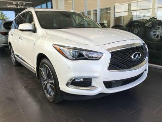 New 2020 Infiniti QX60 EXECUTIVE DEMO, ProACTIVE w/THEATRE PACKAGE for sale in Edmonton, AB