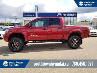Used 2015 Nissan Titan PRO-4X 4x4/BACK UP CAM/HEATED SEATS for sale in Edmonton, AB