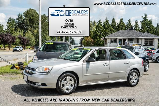 2004 Chevrolet Malibu Maxx LT V6, Only 137,000 km's, 5-Door Hatchback!