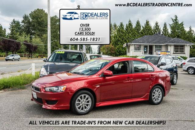 2011 Mitsubishi Lancer SE, Only 85,800 km's, Local, Bluetooth, Clean!
