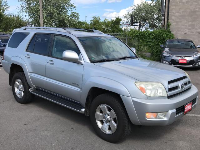 2003 Toyota 4Runner LTD ** 4X4, HTD LEATH, SUNROOF **
