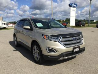 Used 2017 Ford Edge Titanium | Accident Free | Panoramic Roof for sale in Harriston, ON