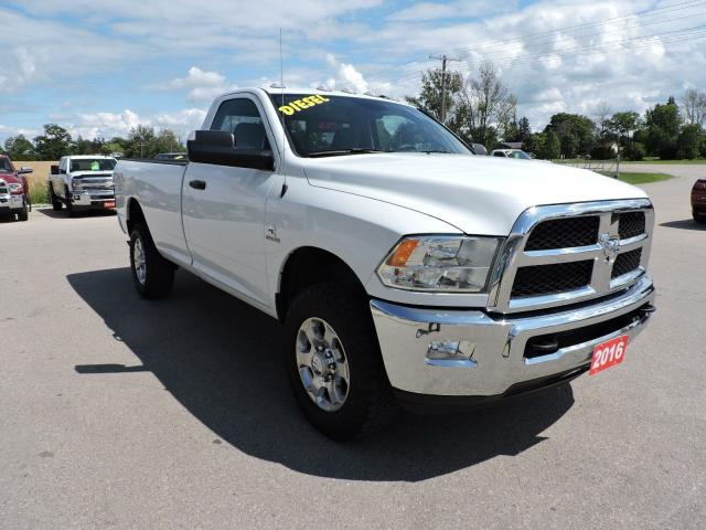 2016 RAM 2500 SLT. Diesel. 4X4. Remote start. Power seat.