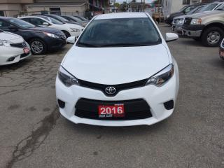 Used 2016 Toyota Corolla 4 Dr Auto Backup Camra for sale in Etobicoke, ON