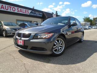 Used 2006 BMW 3 Series 4dr Sdn AUTO 323i LOW KM NO ACCIDENT SAFETY 4 NEW for sale in Oakville, ON