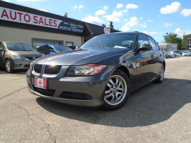 2006 BMW 3 Series 4dr Sdn AUTO 323i LOW KM NO ACCIDENT SAFETY 4 NEW