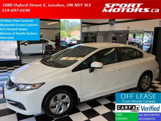 Used 2015 Honda Civic LX+Camera+Bluetooth+Heated Seats+A/C for sale in London, ON