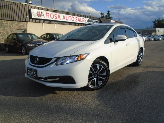 2015 Honda Civic SUNROOF LOW KM ALLOY SIDE CAM BACK CAM BLUETOOTH