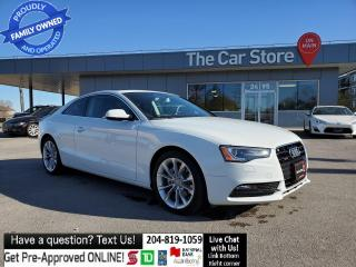 Used 2014 Audi A5 Technik Navi REMOTE START park sensor BANG OLUFSEN for sale in Winnipeg, MB