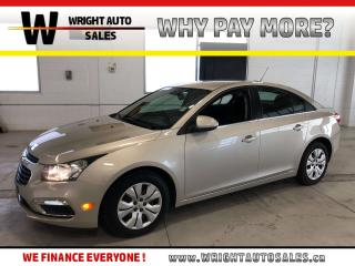Used 2015 Chevrolet Cruze 1LT LOW MILEAGE BACKUP CAMERA 44,083 KMS for sale in Cambridge, ON
