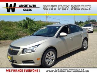Used 2013 Chevrolet Cruze LT Turbo KEYLESS ENTRY BLUETOOTH 115,491 KMs for sale in Cambridge, ON