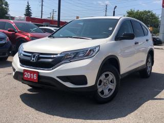 Used 2016 Honda CR-V LX, Roadsport Honda original with low mileage for sale in Toronto, ON