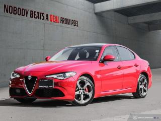 Used 2017 Alfa Romeo Giulia Sport Q4,Cold Weather Pkg,Fwd Clsn*Pano Roof for sale in Mississauga, ON