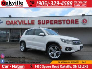 Used 2014 Volkswagen Tiguan R-LINE | NAVIGATION | PANORAMIC SUNROOF | LOADED for sale in Oakville, ON