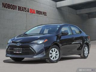 Used 2019 Toyota Corolla CE*Siri Eyes Free*Bluetooth*Reverse Cam*Clean* for sale in Mississauga, ON