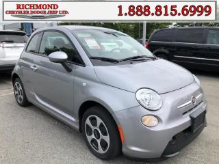 Used 2015 Fiat 500 X Elec *Certified*Fully Electric*Compact*Money Saver for sale in Richmond, BC