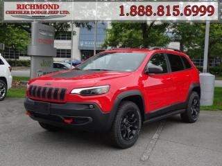 Used 2019 Jeep Cherokee Trailhawk for sale in Richmond, BC