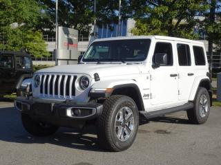 Used 2019 Jeep Wrangler Unlimited Sahara for sale in Richmond, BC