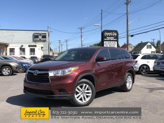 Used 2016 Toyota Highlander LE 8 PASSENGER  ALLOYS  BACKUP CAMERA for sale in Ottawa, ON