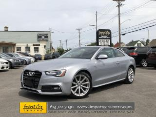 Used 2015 Audi A5 2.0T Progressiv S-LINE  ROOF  LEATHER  NAVI ONLY 4 for sale in Ottawa, ON