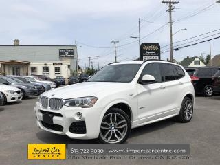 Used 2016 BMW X3 xDrive35i M-SPORT  LEATHER  NAVI  BLIS  HUD WOW!! for sale in Ottawa, ON