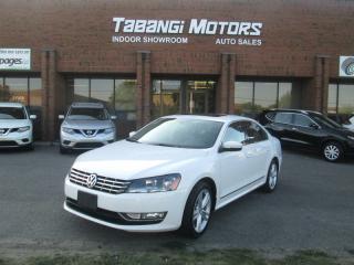 Used 2013 Volkswagen Passat TDI   HIGHLINE   NO ACCIDENTS   NAVIGATION   SPORT  BT for sale in Mississauga, ON