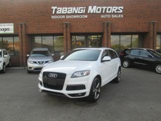 Used 2014 Audi Q7 S-LINE NAVIGATION - REARCAM - LEATHER - SUNROOF 7-PASSENGER for sale in Mississauga, ON