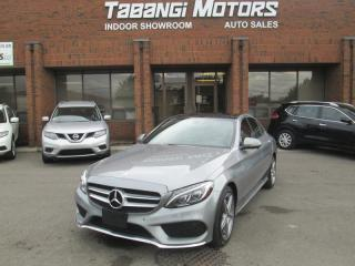 2016 Mercedes-Benz C-Class C300 4MATIC | NO ACCIDENTS | A.M.G | NAVIGATION | SUNROOF |