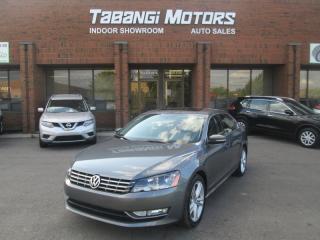 Used 2013 Volkswagen Passat TDI HIGHLINE NAVIGATION REARCAM SPORT LEATHER SUNROOF for sale in Mississauga, ON