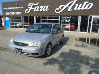 Used 2007 Ford Focus AUTOMATIC ZX4 for sale in Scarborough, ON