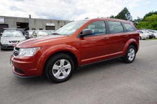 Used 2013 Dodge Journey SE CERTIFIED 2YR WARRANTY *DEALER SERVICE RECORDS* PUSH START ALLOYS 2013 Dodge Journey SE AUTO CERTIFIED 2YR WARRANTY *DEALER SERVICE RECORDS* PUSH START ALLOYS for sale in Milton, ON