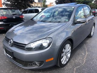 Used 2013 Volkswagen Golf Wolfsburg Edition TDI 6 SPEED MANUAL for sale in Concord, ON