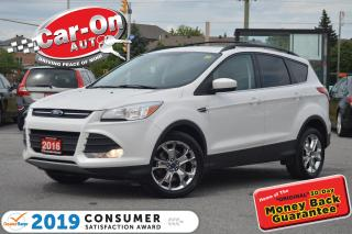 Used 2016 Ford Escape SE AWD LEATHER NAV PANO ROOF REAR CAM HTD SEATS for sale in Ottawa, ON