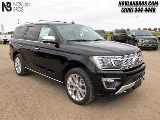 Used 2019 Ford Expedition Platinum   - Navigation -  Sunroof for sale in Paradise Hill, SK