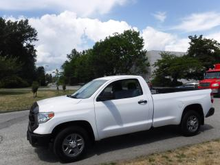 Used 2014 Toyota Tundra SR 5.7L V8 Regular Cab 2WD for sale in Burnaby, BC