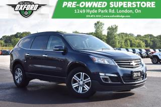 Used 2016 Chevrolet Traverse LT - One Owner, Well Maintained, Bluetooth, Sunroo for sale in London, ON