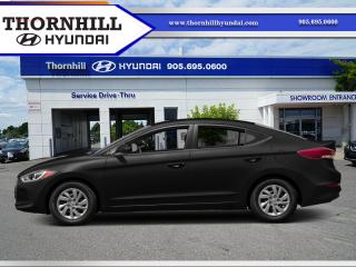 Used 2017 Hyundai Elantra LE  - Bluetooth -  Heated Seats for sale in Thornhill, ON