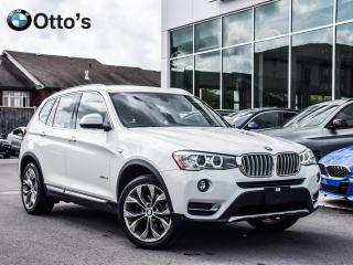 Used 2017 BMW X3 xDrive28i CAMERA, ALARM, HEATED STEERING for sale in Ottawa, ON