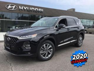 Used 2020 Hyundai Santa Fe 2.0T Luxury AWD  -  Cooled Seats - $285 B/W for sale in Simcoe, ON