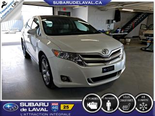 Used 2014 Toyota Venza XLE V6 Awd **Cuir Toit ouvrant ** for sale in Laval, QC
