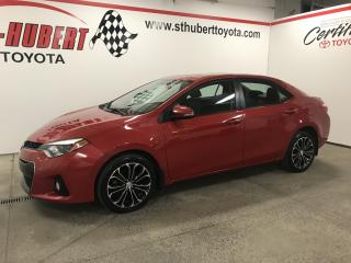 Used 2015 Toyota Corolla S, TOIT OUVRANT, MAGS for sale in St-Hubert, QC