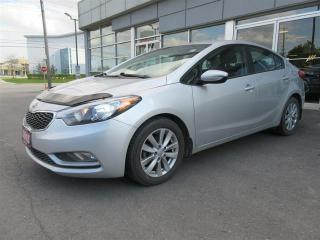 Used 2016 Kia Forte 1.8L LX+ / Heated seats/Bluetooth/Power package/One owner lease return for sale in Mississauga, ON
