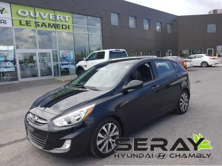 Used 2016 Hyundai Accent SE, mags, toit, a/c, bluetooth for sale in Chambly, QC