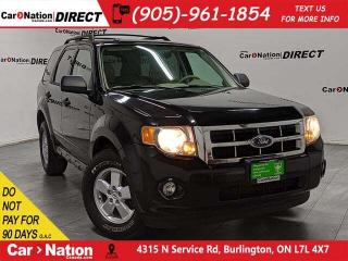 Used 2010 Ford Escape XLT| AS-TRADED| LEATHER| OPEN SUNDAYS| for sale in Burlington, ON