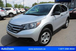 Used 2014 Honda CR-V LX **WOW** FINANCEMENT FACILE !! for sale in Laval, QC