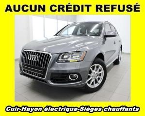 Used 2014 Audi Q5 QUATTRO SIÈGES CHAUFF HAYON ÉLECT CUIR *BAS KM* for sale in St-Jérôme, QC