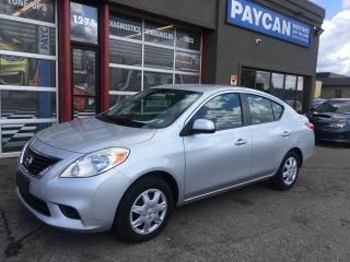 Used 2012 Nissan Versa 1.6 S for sale in Kitchener, ON
