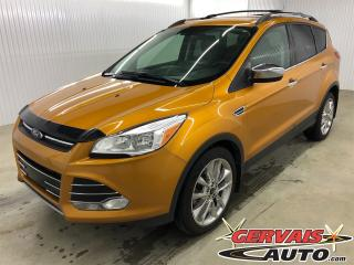 Used 2016 Ford Escape SE AWD 2.0 Groupe Chrome Cuir/Tissus GPS Mags for sale in Shawinigan, QC