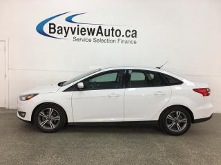 Used 2017 Ford Focus - AUTO! A/C! ALLOYS! SYNC! REVERSE CAM! for sale in Belleville, ON