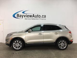 Used 2015 Lincoln MKC - AWD! 7000KMS! PANOROOF! HTD LEATHER! NAV! for sale in Belleville, ON